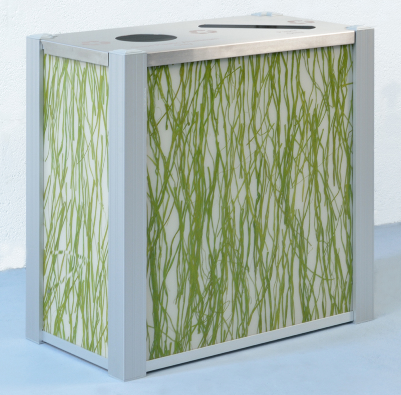Dual Stream 3Form Recycling Bin by DeepStream Designs