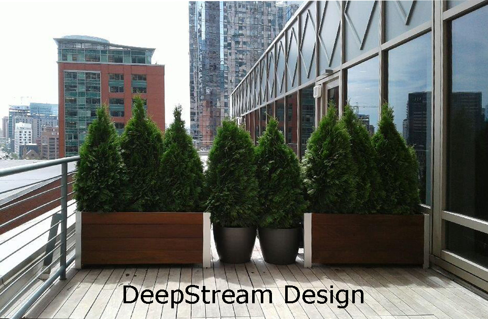 Multi-section planters that need to be reconfigured to fit a smaller space